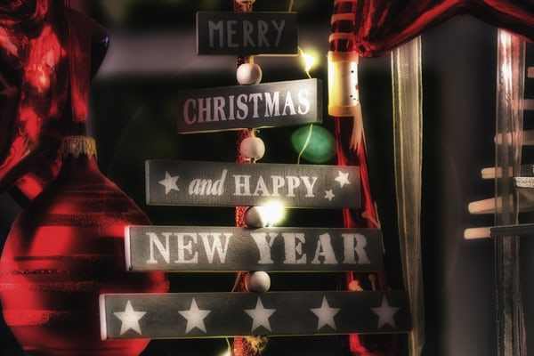 merry christmas & new year images
