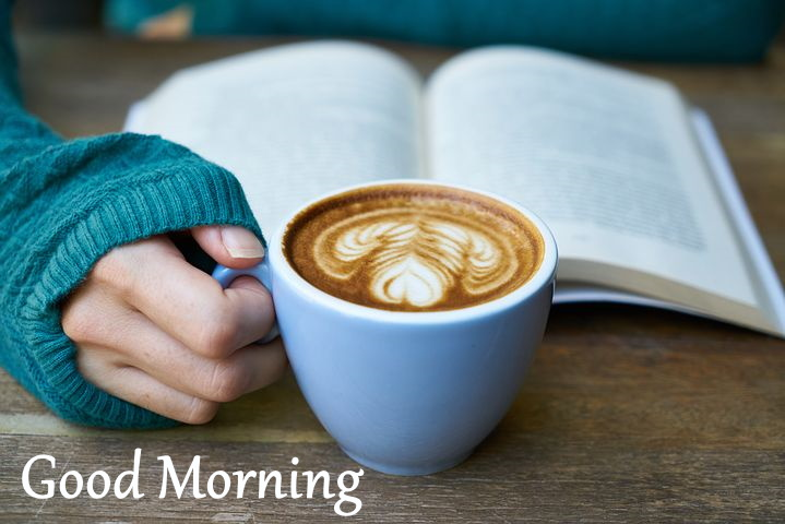 beautiful morning images pics wallpaper with coffee cup