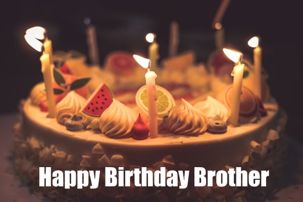 happy birthday brother images for whatsapp facebook