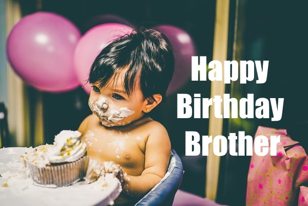 happy birthday brother wishes images download for Whatsapp