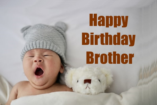very cute happy birthday images for brother