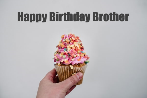 birthday images wishes for brother with cake hd